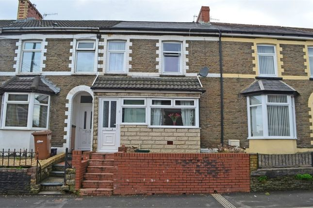 Thumbnail Terraced house for sale in Gilfach Street, Bargoed, Caerphilly