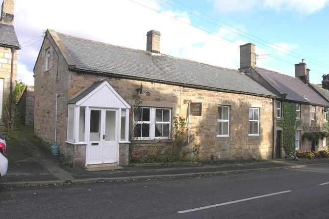 Thumbnail End terrace house to rent in Thropton, Morpeth