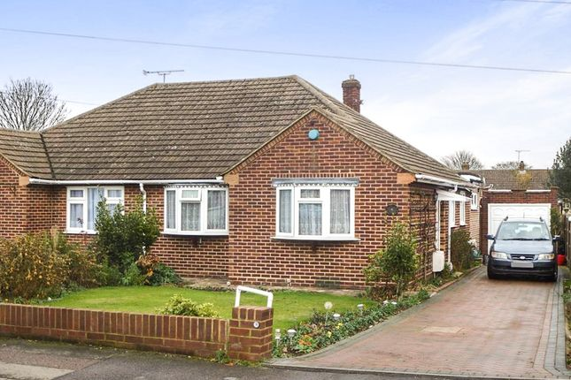 Thumbnail Semi-detached bungalow for sale in Cherry Tree Road, Hoddesdon