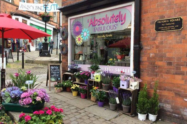 Thumbnail Retail premises for sale in St. John Street, Ashbourne