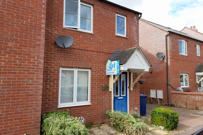 2 bed semi-detached house to rent in Woolthwaite Lane, Cambridge, Cambridgeshire CB23