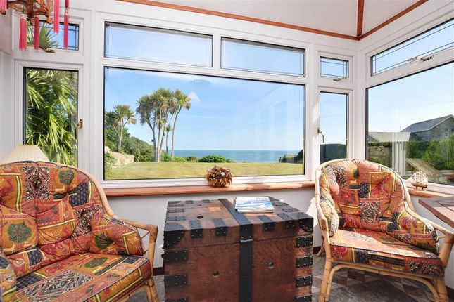 Thumbnail Detached house for sale in Undercliff Drive, St. Lawrence, Isle Of Wight