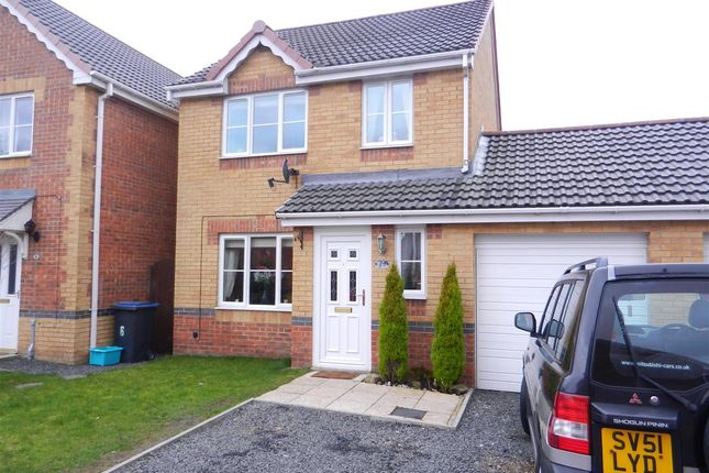 Thumbnail Detached house for sale in St. Ives Gardens, Leadgate, Consett