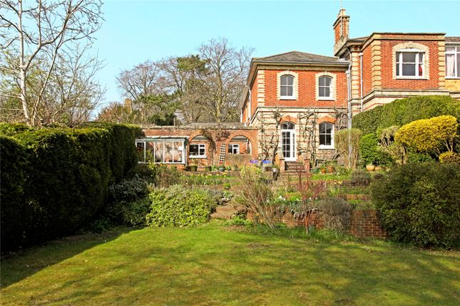 Thumbnail Semi-detached house for sale in Guildown Road, Guildford, Surrey