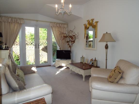 Lounge of High Croft Park, Newton Hall Lane, Mobberley, Cheshire WA16