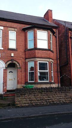 Thumbnail Semi-detached house to rent in Kimboulton Avenue, Lenton, Nottingham