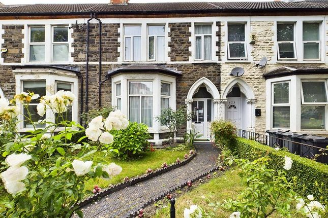 Thumbnail Terraced house for sale in Richmond Road, Roath, Cardiff.