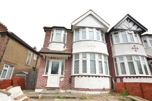 Thumbnail Semi-detached bungalow for sale in Priory Cottages, Hanger Lane, London