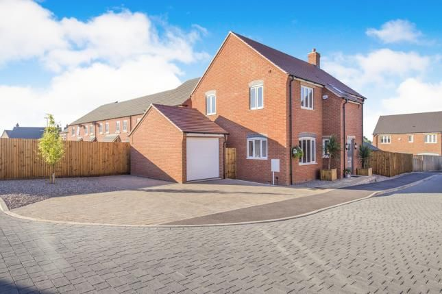 Thumbnail Detached house for sale in Stoney Rise, Sapcote, Leicester, Leicestershire