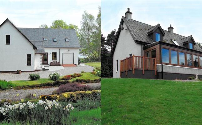 Thumbnail Detached house for sale in The Halt & Somerled, Roshven, Lochailort
