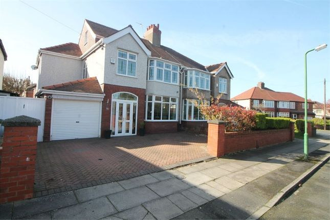 Thumbnail Semi-detached house for sale in Brentwood Avenue, Crosby, Liverpool, Merseyside