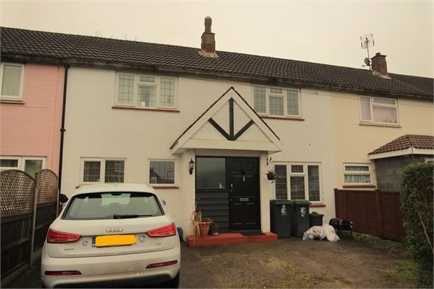 Thumbnail Terraced house for sale in The Plashets, Sheering, Bishops Stortford, Herts.