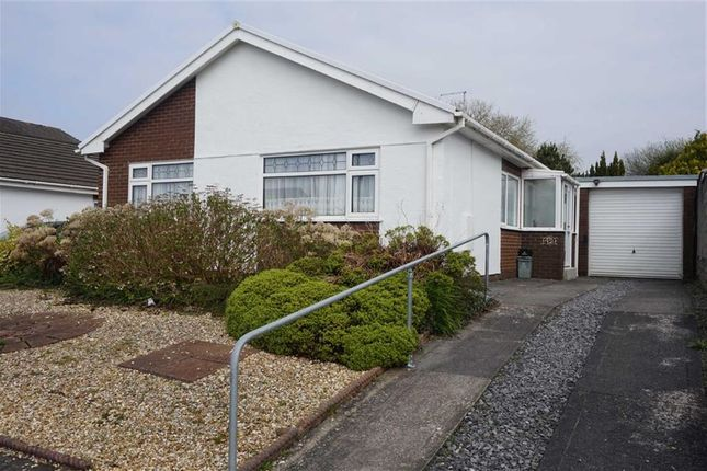 Thumbnail Detached bungalow for sale in Llys Gwynfaen, Swansea