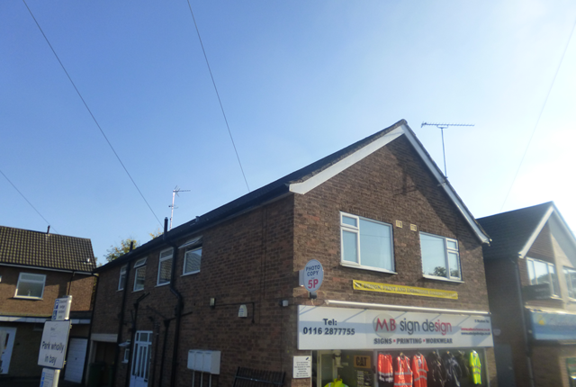 Thumbnail Flat to rent in Flat 2, Station Road, Glenfield, Leicester.