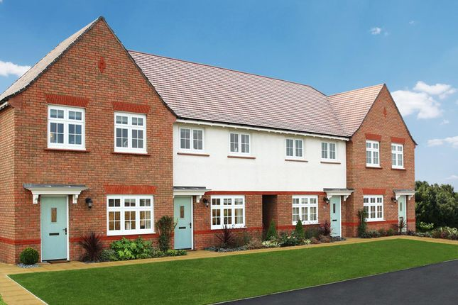 Thumbnail Terraced house for sale in The Orchards, Pulley Lane, Droitwich, Worcestershire