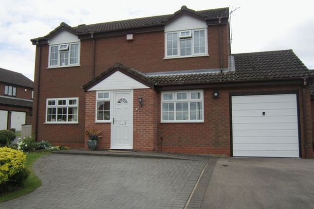 Thumbnail Detached house for sale in Cherrywood Grove, Allesley Green, Coventry