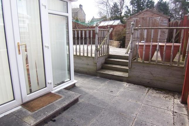 Rear Patio of Mayshade Road, Loanhead, Midlothian EH20