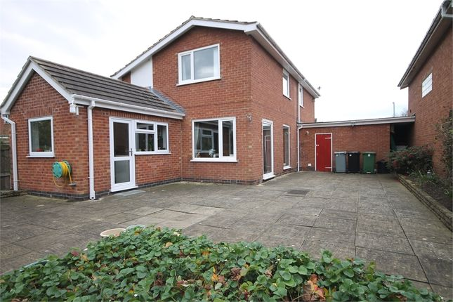 Thumbnail Detached house for sale in The Meadows, Long Bennington, Newark, Nottinghamshire.