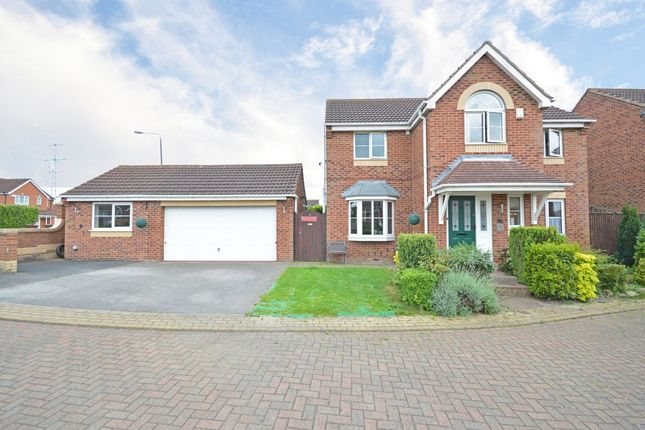 Thumbnail Detached house for sale in Western Gales Way, Normanton