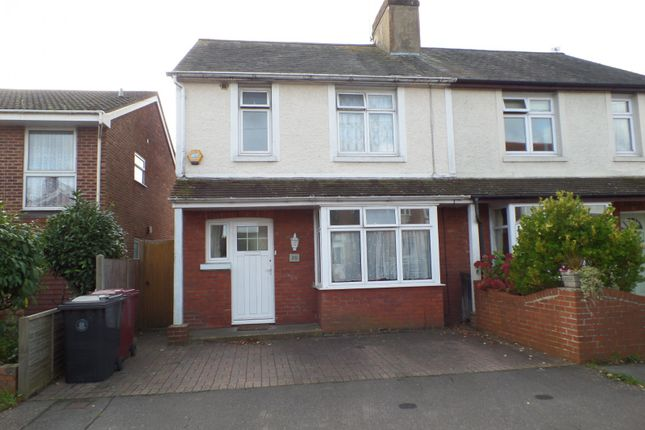 Thumbnail Semi-detached house to rent in Kings Avenue, Chichester