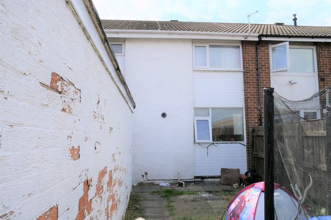 Thumbnail Terraced house for sale in Caernarvon Close, Middlesbrough