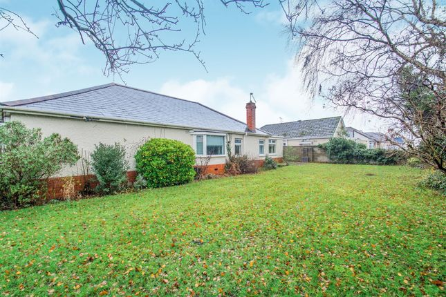 Thumbnail Detached bungalow for sale in Caegwyn Road, Heath, Cardiff