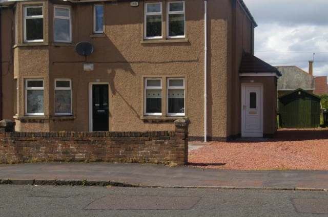 Thumbnail Flat to rent in 370 Ladywell Road, Motherwell
