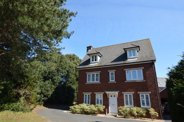 Thumbnail Detached house to rent in Lister Close, St. Leonards, Exeter