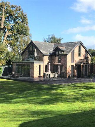 Thumbnail Detached house to rent in Mottram Road, Alderley Edge