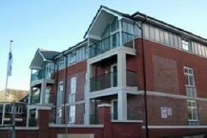 External of Victoria Mansions, Newton Drive, Blackpool FY3