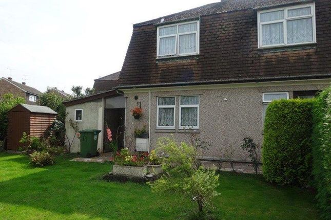 Thumbnail End terrace house to rent in Hollydean, Denecroft, Cinderford