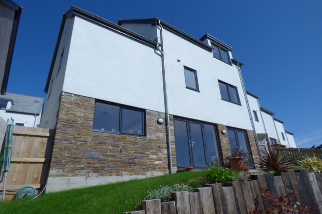 Thumbnail Detached house for sale in Coombe View, Perranporth