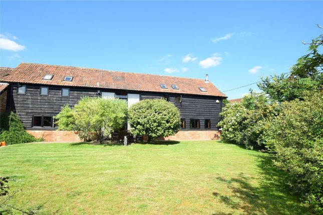 Thumbnail Detached house for sale in Swallowfield Road, Arborfield, Berkshire
