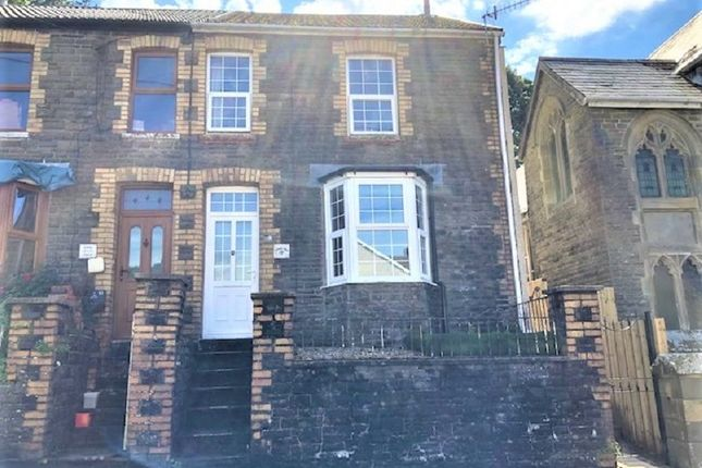 Thumbnail Semi-detached house for sale in Bryn Road, Glyncorrwg, Port Talbot, Neath Port Talbot.
