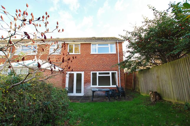 Thumbnail End terrace house to rent in Heron Close, Guildford