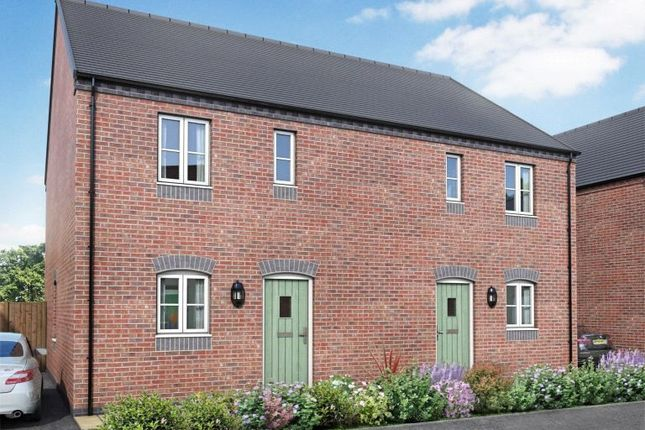 Thumbnail Semi-detached house for sale in Plot 19 Rosliston, Holborn Place, Holborn View, Codnor