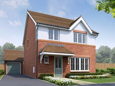 Thumbnail Detached house for sale in The Cardigan, Plot 21, Rossmore Road East, Ellesmere Port, Cheshire