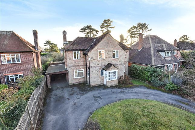 Thumbnail Detached house for sale in Clevehurst Close, Stoke Poges, Buckinghamshire