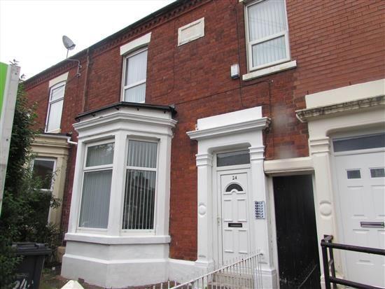 Thumbnail Property to rent in Brackenbury Road, Preston