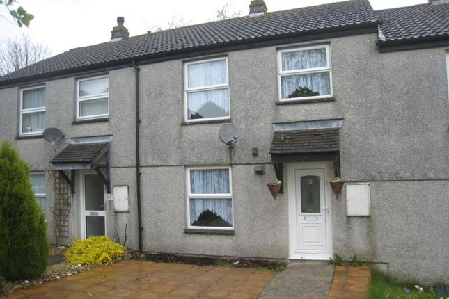Thumbnail Terraced house to rent in Pengover Park, Liskeard, Cornwall