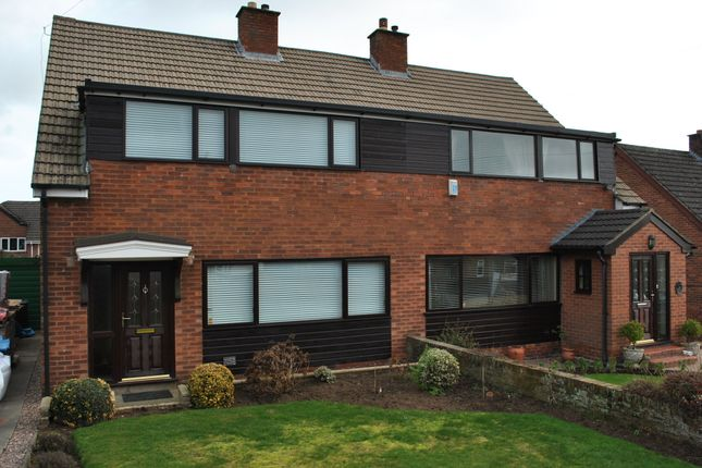 Thumbnail Semi-detached house to rent in Leech Road, Malpas, Cheshire