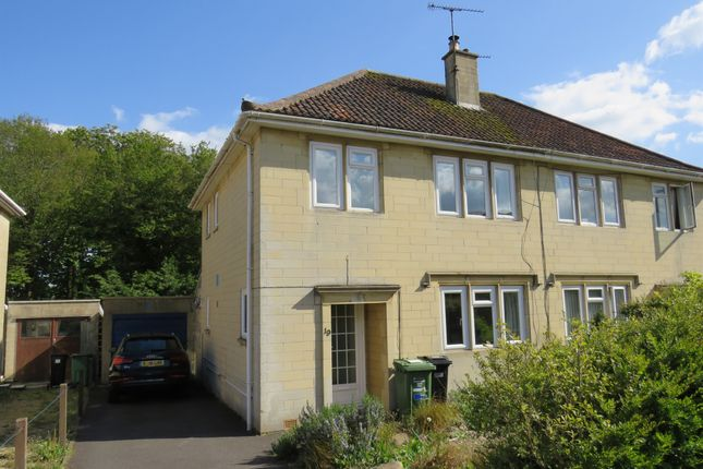 Thumbnail Semi-detached house for sale in The Beeches, Odd Down, Bath