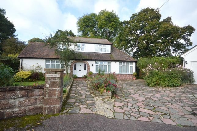 Thumbnail Detached bungalow for sale in Meadway, Sidmouth, Devon