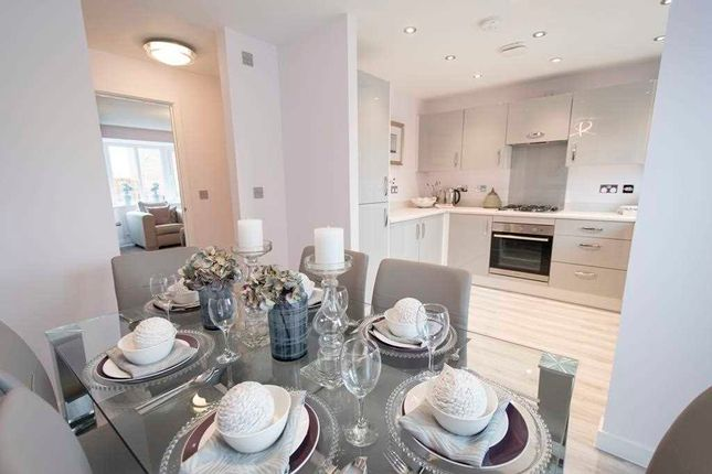 Thumbnail Terraced house for sale in The Buchanan, Ravenscraig, Plot 23, The Castings, Meadowhead Road, Ravenscraig, Wishaw