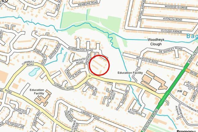 Street Plan of Delves Road, West Timperley, Altrincham WA14