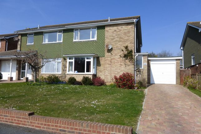 Thumbnail Semi-detached house for sale in Belgrave Crescent, Seaford