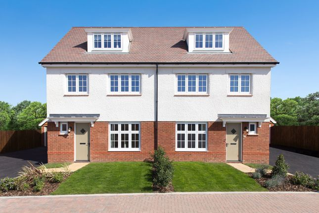 Thumbnail Town house for sale in Western Road, Silver End, Witham