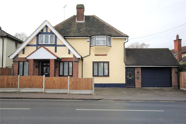 Thumbnail Detached house for sale in Stock Road, Chelmsford, Essex