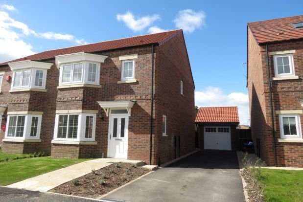 Thumbnail Semi-detached house to rent in Beverley Road Norton, Malton