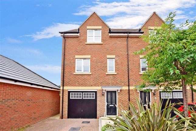 Thumbnail Town house for sale in Robin Road, Goring-By-Sea, Worthing, West Sussex